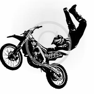 Motocross-Vector Illustration