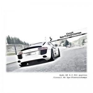 Audi R8 4.2 FSI quattro-Circuit de Spa-Francorchamps